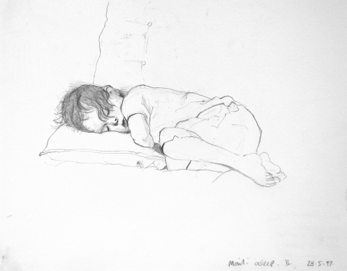 sketchbook 1 maili asleep28-5-97
