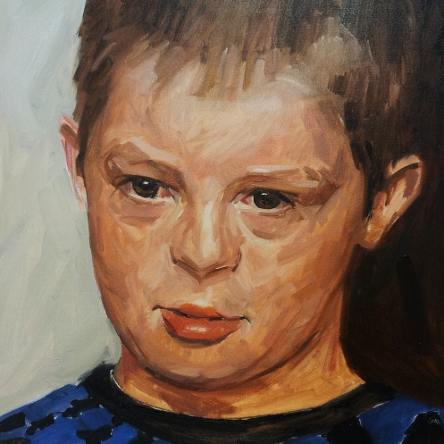 Ewan portrait demonstration