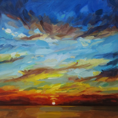 landscape demos sunset dramatic small