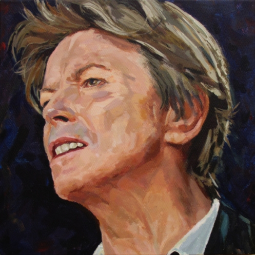 David Bowie by Fiona