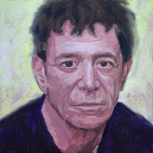 Lou Reed by Fiona