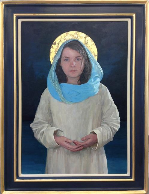Mary framed