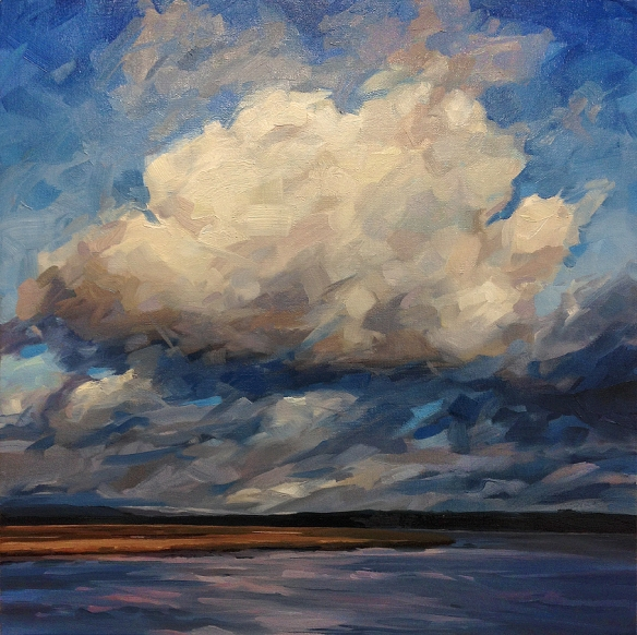 big cloud irvine harbour jan 2015