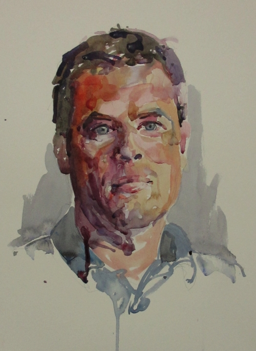richard watercolour demo