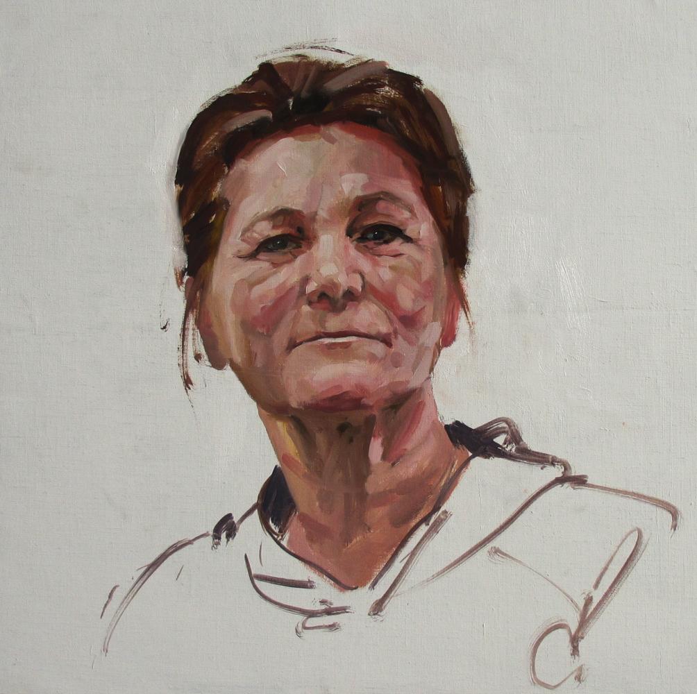 Margaret demo Ayr sketch club