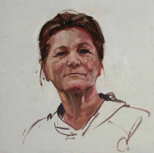 Margaret demo Ayr sketch club