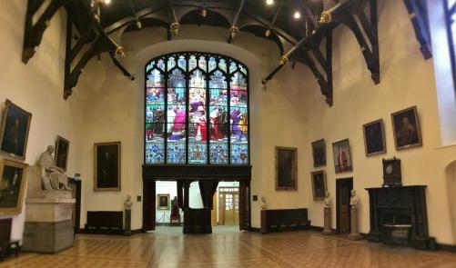 Lady Cosgrove in Par Hall