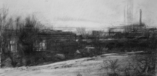 from-the-train-charcoal
