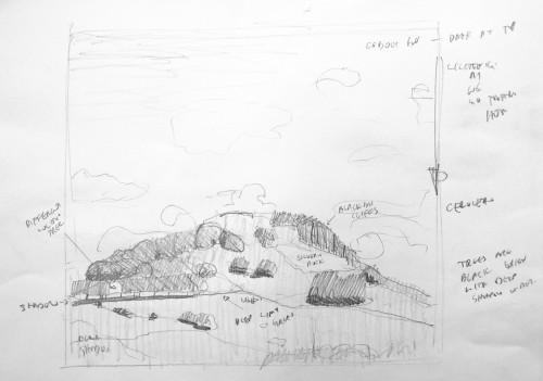 loudoun hill sketch